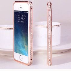 iPhone 5 case Sparkly iPhone case gold and rose gold available Accessories Phone Cases