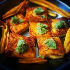 #paneer #fry #thecha #topping #random #spices #instafood
