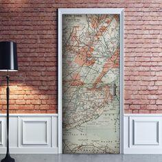 Decorazione Adesiva Mappa Antica