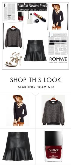 """""""contest blouse"""" by azrahadzic ❤ liked on Polyvore featuring WithChic, Dsquared2, Nicki Minaj, Chanel, Givenchy and Christian Dior"""