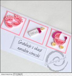 Bellísima tarjeta para nacimiento!
