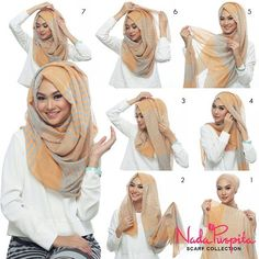 Easy loose Hijab tutorial