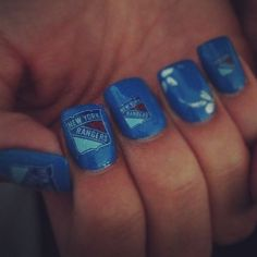 New York Rangers Nails
