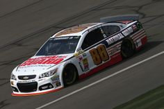 Dale Earnhardt Jr. at Auto Club Speedway