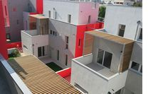 Logements à Gennevilliers #atelierdupont #color #social #housing