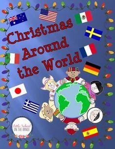 Christmas Around The World Complete Unit - No Prep