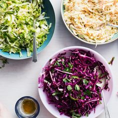 How to Make Coleslaw Without a Recipe ~ Salads, vegetables, vegetarian
