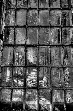 fractured view of gladesville asylum  (Gladesville Mental Hospital was a psychiatric hospital established in 1838 in the suburb of Gladesville, Sydney, Australia, its original name was Tarban Creek Lunatic Asylum)