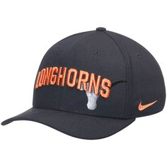 Texas Longhorns Nike Classic 99 Graphic Swoosh Performance Flex Hat - Black - $27.99