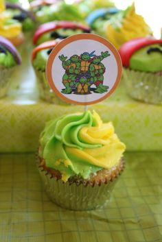 "Photo 7 of 19: Birthday ""Abby's Teenage Mutant Ninja Turtle Party!"" 