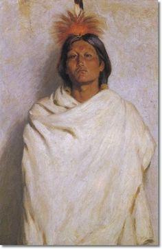 Joseph Henry Sharp Artist | Joseph Henry Sharp - Jerry Of Taos - Approximate Original Size - 24x16 ...