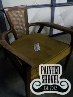 Antique chair sold by auction at Painted Shovel in Avondale, AL.