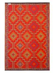 Lhasa Orange and Violet - out door rug
