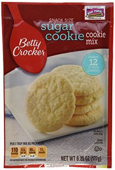 Betty Crocker Snack Size Sugar Cookie Cookie Mix  625 Oz Each Pack of 3 * Read more at the image link. (This is an affiliate link) #BakingMixes