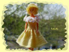 Puppenkleidung - MAIsterwerke Blumenkleid *** für Barbie *** - ein Designerstück…