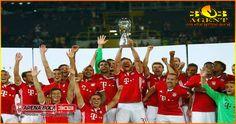 Bayern Muenchen Angkat Piala Super Jerman