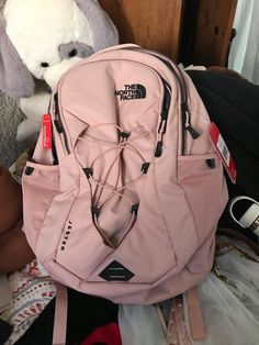 The North Face Women's Jester Luxe Backpack The North Face, North Face Women, Girl Backpacks, School Backpacks, Cute Backpacks For College, Mochila Kanken, Aesthetic Backpack, School Suplies, School Accessories