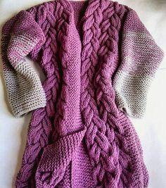 Knitted cardigan | Купить Объёмный вязаный КАРДИГАН в интернет магазине на Ярмарке Мастеров