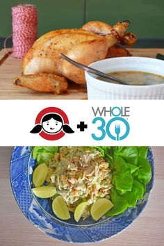When you make my Weeknight Roast Chicken, you'll have a tasty and easy weeknight dinner! Plus, you can transform the leftovers into a zesty Madras Chicken Salad. Chicken two ways! Whole30 Dinner Recipes, Paleo Chicken Recipes, Primal Recipes, Paleo Dinner, Healthy Recipes, Healthy Foods, Paleo Whole 30, Whole 30 Recipes, Whole 30 Breakfast