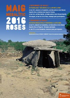 Maig Megalític Roses 2016 #aroses #dolmen #popular