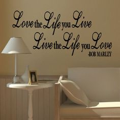 LARGE BOB MARLEY QUOTE L...