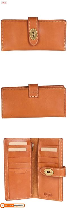 FOSSIL Austin Clutch Color: Saddle Wallet, Our Austin clutch features our rich, unlined leather and classic key and lock closure. Toss this accessory in your everyday carryall for polished, on-the-go style., #Apparel, #Wallets, http://www.pylinks.com/store/item-B007ZR2YXW
