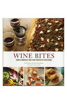 'Wine Bites' Cookbook http://rstyle.me/n/dk2rqpdpe