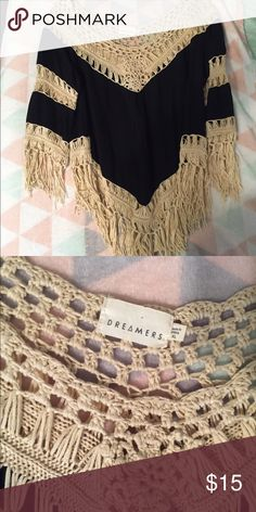 Boho Top So cute, just too big for me. I've probably worn it 1-2 times before. Tops