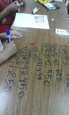 Write on the desk! I do this in math, the kids love it because they feel like they are breaking a big rule...plus i play it up about keeping it on the down low