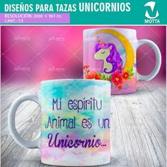 Sublimation templates Monocorns-fantasy mugs-Mug unicorn-Floral Pink Unicorn Sublimation Mugs, Powerpoint Word, Star Work, Some Text, Diy Gifts, Bowls, Fantasy, Templates, Etsy