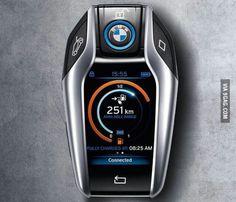 The new BMW car key