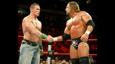 John Cena and Triple H Monday Night Raw 7/2/09