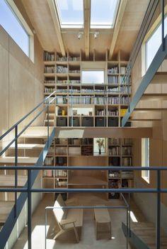 《日本建築Case Studies》幸福零距離,繚繞木香的溫暖部屋 @ 綠‧建築家 :: searchouse.net