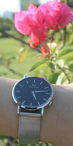 Like the flower or the Welly Merck watch? Buy this Swiss made watch with a…