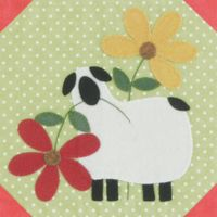 Flowers for Ewe...PDF pattern