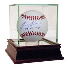 "Jose Canseco Signed MLB Baseball w/ ""88 AL MVP"" Insc. This MLB baseball has been…"