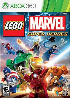 LEGO Marvel Super Heroes offers an original storyline in which Nick Fury calls upon Iron Man, the Hulk, Thor, Spider-Man, Wolverine and other heroes spannin Marvel Super Heroes Game, Super Hero Games, Marvel Heroes, Marvel Villains, Nintendo Ds, Wii U Games, Xbox One Games, Lego Games, Playstation Games