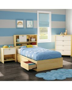 Is your little one ready for his own big-boy room? Furnish the space together by looking through these stylish kids' bedroom furniture sets, bookshelves, and lighting fixtures (and buying all your favorites).