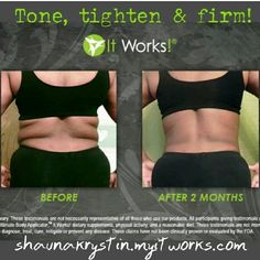 Have you heard? Have you tried tgis crazy wrap thing? Contact me! alschoonover2003@gmail.com Https://alschoonover.myitworks.com