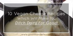 Here are some amazing vegan cheese recipes that will totally satiate your taste buds and you won't even believe that they are vegan once you've tasted them!
