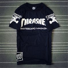 e0ee1fe0aeda 2016 thrasher t-shirt men t shirt skateboard fashion mens trasher clothing