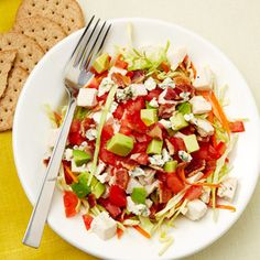 California Cobb Salad (500-Calorie Dinner Recipes)