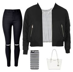 Untitled #4 by hannah-s-b on Polyvore featuring polyvore, fashion, style, Patagonia, Topshop, WithChic, MICHAEL Michael Kors, Kate Spade and clothing