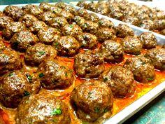 Baked Lamb Meatballs