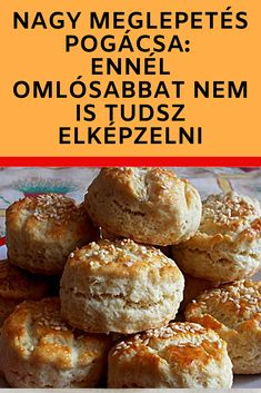 Ennél omlósabbat nem is tudsz elképzelni! Hamburger, Paleo, Food And Drink, Bread, Diy, Do It Yourself, Bricolage, Hamburgers, Breads