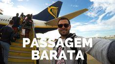 Como é voar de RYANAIR - Companhia LOW COST de passagens aéreas