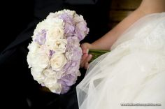 Cream & Lavender Bouquet
