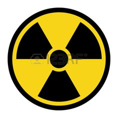 Radiation Hazard Sign. Symbol Of Radioactive Threat Alert. Black.. Royalty Free Cliparts, Vectors, And Stock Illustration. Image 49483442.