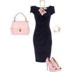 formal black dress colored accessories - Google Search