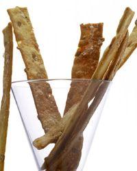 Sunflower Seed  Rosemary Crackers Recipe (Food & Wine)